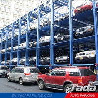 PJS Car lift automated parking garage/car stacking vertical parking system/car stack parking building