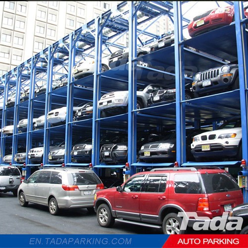PJS Car lift automated parking garage