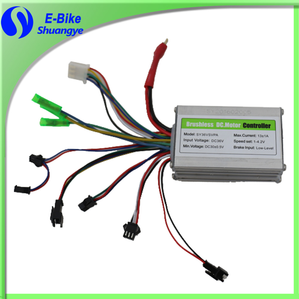24v 36v 48v 250w 350w 500w 800w electric bike brushless motor controller