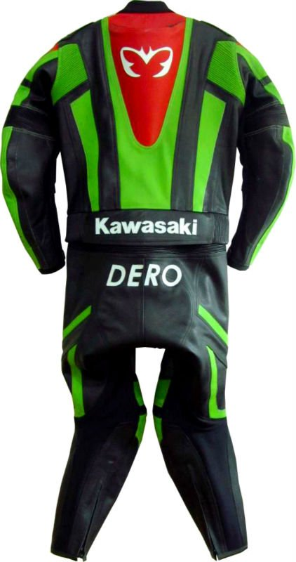 MOTORBIKE LEATHER SUIT DERO PRO-RACE CUSTOMIZED SUIT