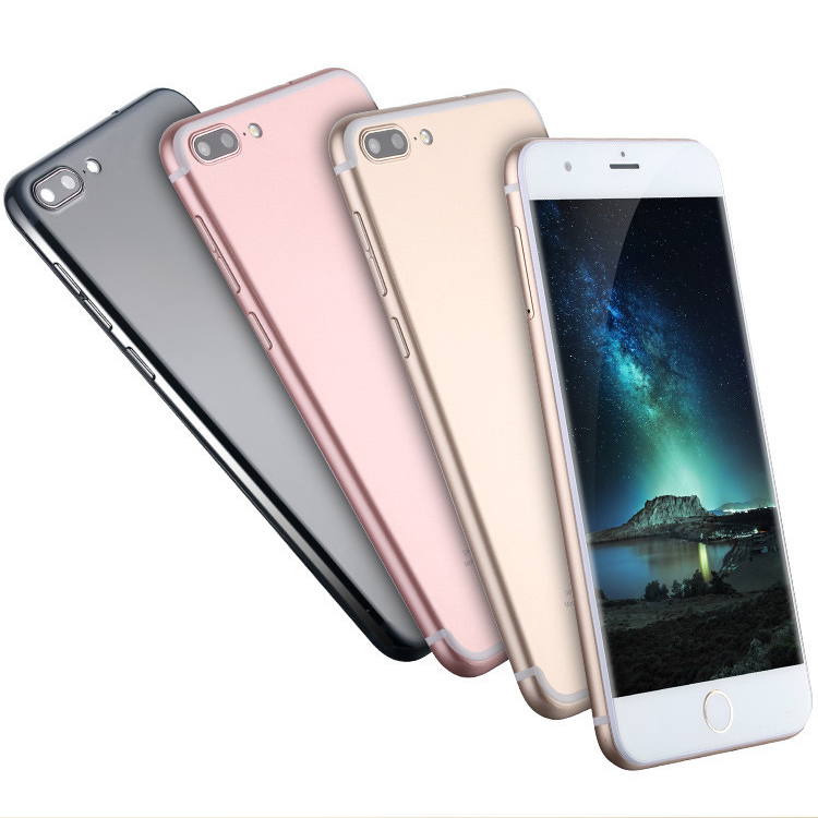 mobile phone 7 plus Hot sale in Africa Android 6.0 smart phone 1G RAM 8G ROM MT6580