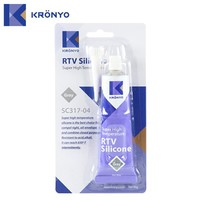 KRONYO Gray for rtv2 rubber adhesive glue silicone sealant price
