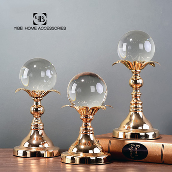 wholesale Modern Home Furnishing Items Crystal Ball