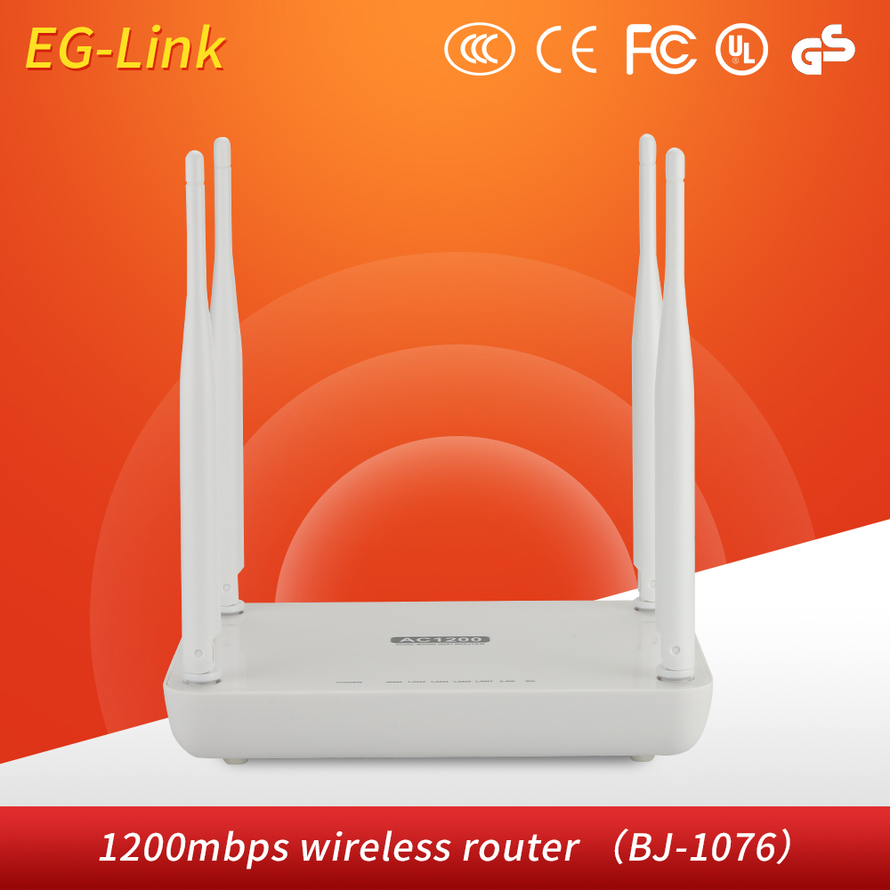 Long Range 4 Antenna 1200mbps Wireless WiFi Router