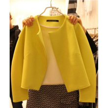 C83305A lady autumn loose coat/new fashion coat