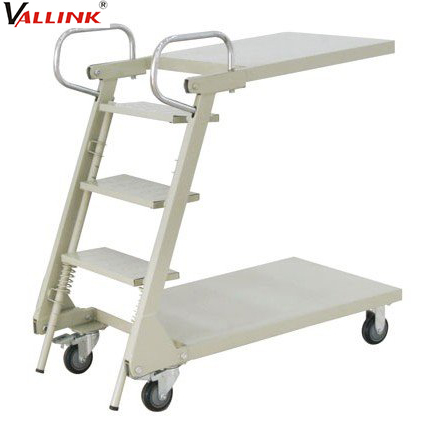 Supermarket Picking 3 Step Ladder with Handle