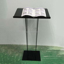China made superior acrylic podium pulpit lectern