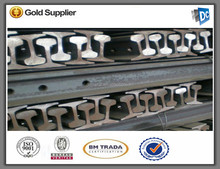 high quality 52kg rail in DC steel Factory