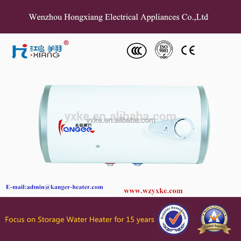 80l storage electric hot water heater for shower with enamel tank