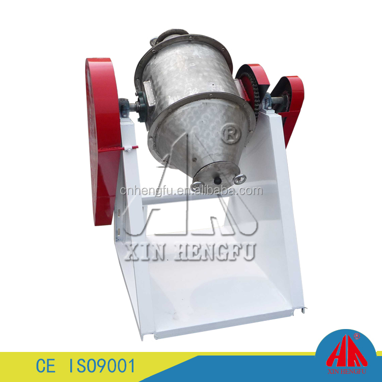 100kg capacity plastic material rotary color mixer rotary drum mixer