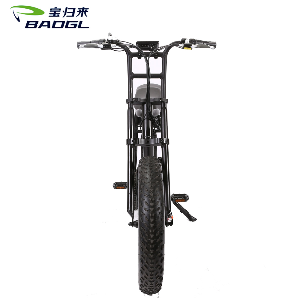 patented lightest 18 inch 48v 500W compact folding electric bike / bicycle with CE & EN15194 Certification BS-73