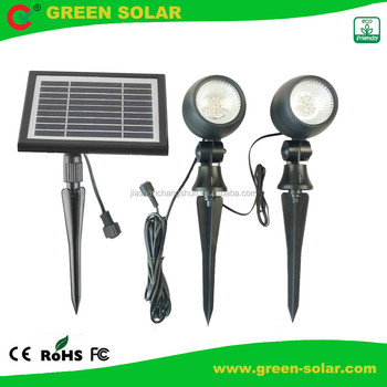 New Design Solar Garden Lamp with CE ROHS IP55