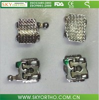 orthodontic good lock self-ligating brackets easy to handle brackets