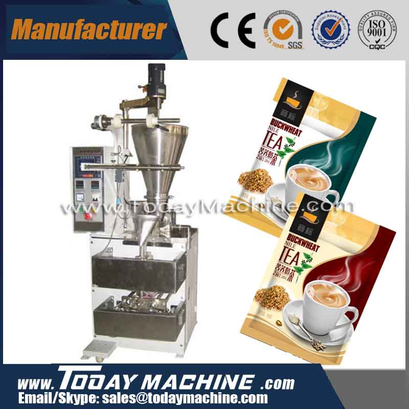 304 stainless steel Full automatic sachet coffee ,milk powder packing machine /tea powder bag packing