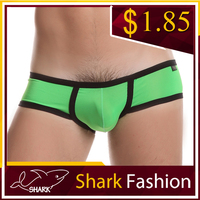 Shark Fashion mens trunks satin mini boxer shorts elastane underwear