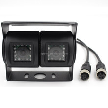 Sony Effio-E CCD 700tvl Hd Dual Twin Lens Car Camera for Truck/Vehicle /Bus With Optional Audio