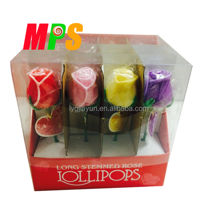 Valentines Day Flower Hard Candy Gifts