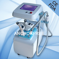 Vacuum Liposuction+Infrared Laser+Bipolar RF+Roller Massage Fat Reduction Body Face Use