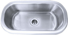 Small single used kitchen sinks stainless steel for warehouse