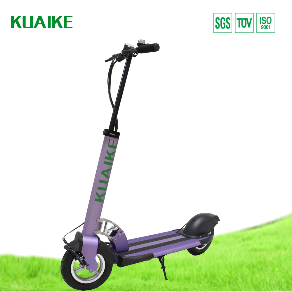 Voilet affordable price alternative to auto car urban commute aircraft frame electric motor scooter luggage carrier