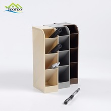 FY-990 FOOYOO Pladtic 4 layers office home storage container sundry receive organization brush pot