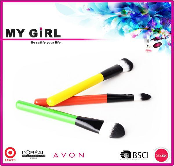 MY GIRL different make up brushes made in china stuffed promotion cosmetic brush roll