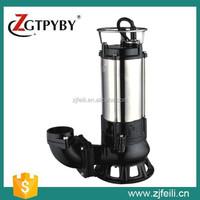 3 inch220 volt submersible sump trash pump 2 hp electric septic pump