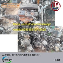 used japanese engine and transmission isu zu 10JB1