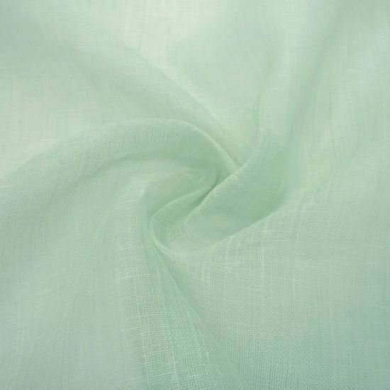 high end gauze mesh fabric linen Summer cloth Saxe