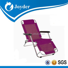 2015 heated products 600D PVC facbric for adult modern folding portable sleeping chair