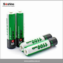 Ni-MH 4pcs AAA 1100mAh Rechargeable Battery by Soshine