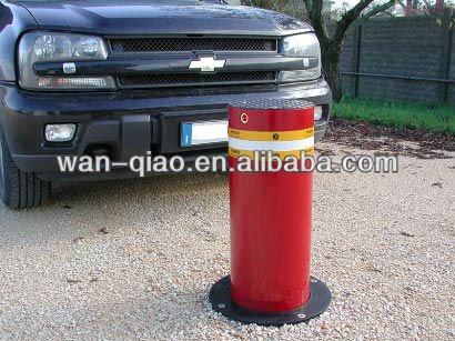 steel pipe bollards for City centres made of 6mm thickness 304# stainless steel