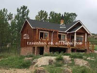 prefabricated house(wooden house/villa/log cabin)with China manufacture