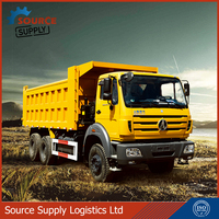 Beiben 8x4 12 wheels sand tipper truck for sale 40ton dump truck