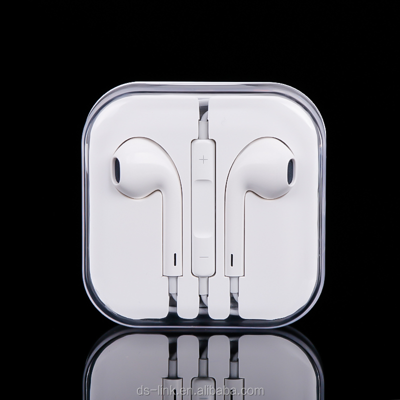 High Quality Earphone For Apple Mobile Phone With Mic For iPhone iPad iPod Wired Headset