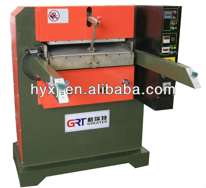 120T Hydraulic plane heat embossing press machine for leather