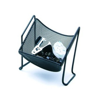 Metal Mesh Paper Clip Holder HT-8206
