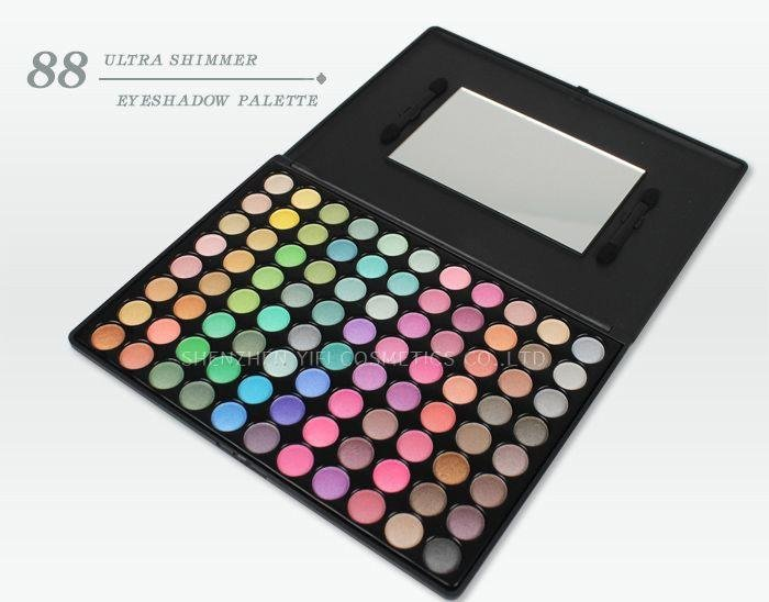 88P eyeshadow palette yellow eye shadow