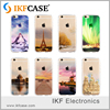 3D Custom Clear PC 0.3mm Ultra Thin Soft Pattern View TPU Mobile Phone Cell Cover for iPhone 6