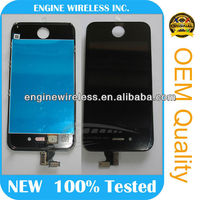 Wholesale price for iphone 4 housing front digitizer+lcd + back co