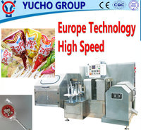 China Big Factory Good Quality Flat Lollipop Twist Wrapping Machine