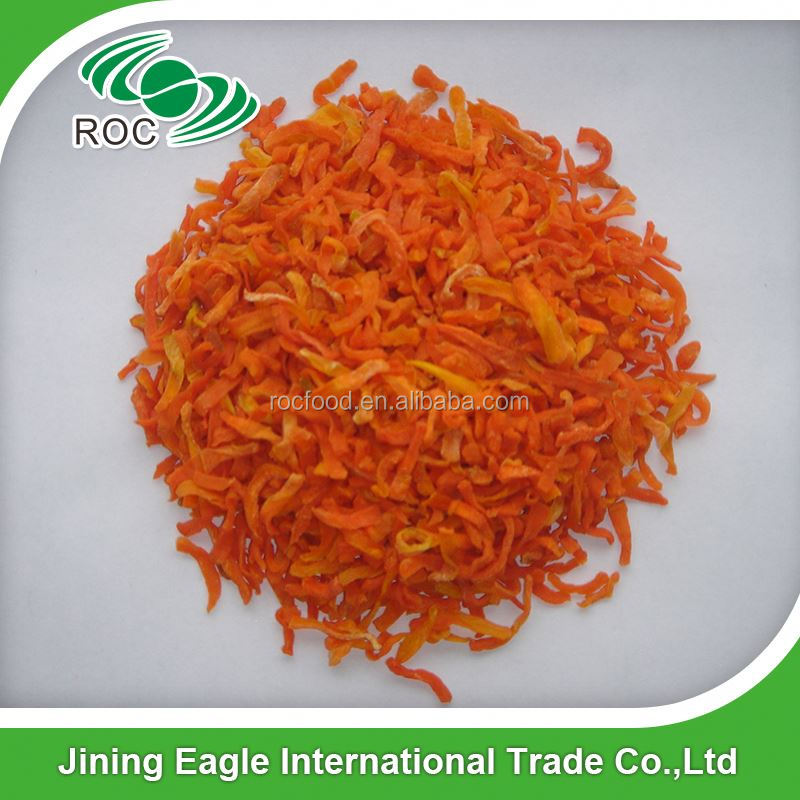 100% Pure Dehydrated Feed Carrots Flakes