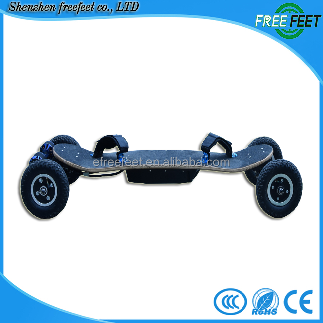 Four wheel stand up 1500w electric scooter motor electric personal transport vehicle