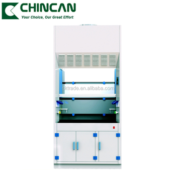 FH(P) series Laboratory Furniture Fully Chemical Resistant Acid Fume Hoods with PP Material
