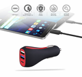 DC12V 24V Input 3 in 1 Multi 3USB USB-C Port QC3.0 Fast Type-C Car Charger