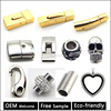 Wholesale Stainless Steel Clasp for Leather Bracelet Making Jewelry Finding Free Sample & Welcome OEM BX998