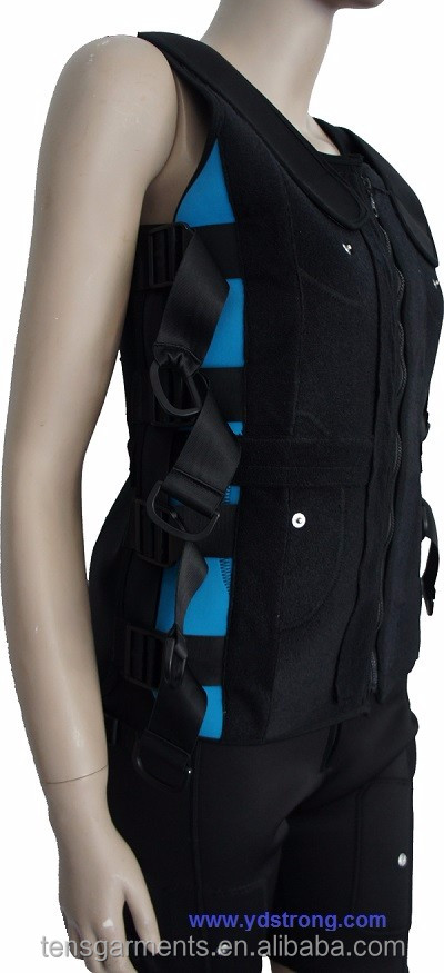 electric muscle stimulation ems TRAINING suit for x body ems equipment