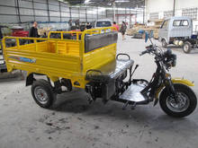 sitting type cargo three wheel motorcyle
