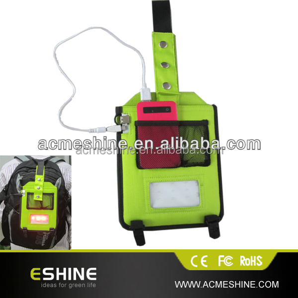 ESC-04L Promotional portable solar bag , Emergency solar charger bag