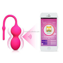New Adult Silicone Smart App Bluetooth WiFi Video Chat Vibrator Sex Toy For Women Anal Kegel Ball
